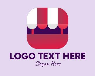 Online Seller - Online Store App  logo design