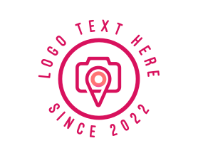 Locator - Photography Location Photographer logo design