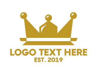 Queen - Community Crown logo design