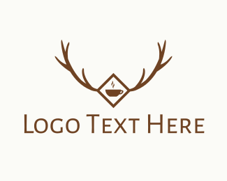 Coffee - Forest  & Cafe logo design