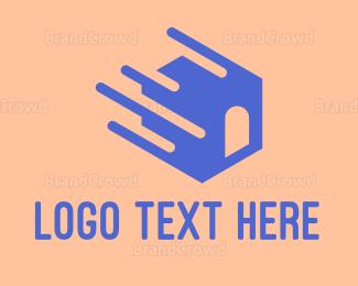 Storage - Fast Moving House logo design