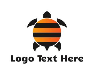 Bee - Bee Turtle logo design