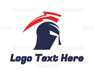 Helmet - Thunder Helmet logo design