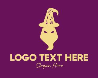 Hat - Magical Wizard Hat logo design