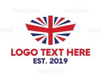 Citizen - Modern United Kingdom Flag logo design