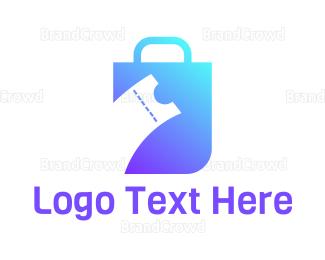 Bag - Ticket Bag logo design