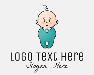 Newborn - Innocent Baby logo design
