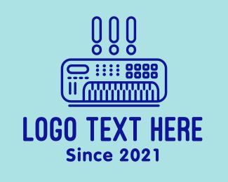 System - Sound System Amplifier  logo design