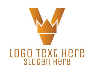 Letter V - Royal Letter V  logo design