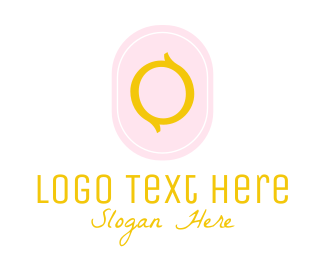 Letter O - Feminine Letter O logo design