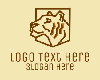 Team - Tiger Emblem  logo design