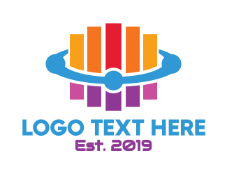 Programming - Generic Colorful Stripes logo design