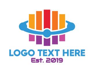 Stripes - Generic Colorful Stripes logo design