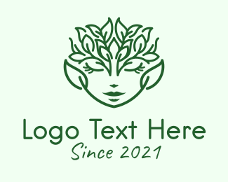 Spa - Minimalist Nature Goddess logo design