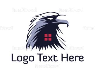 Window - Eagle Window logo design