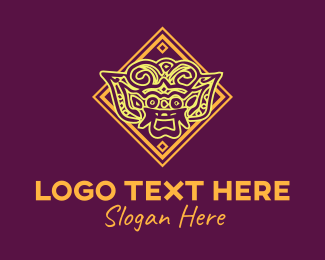 Tour - Asian Art logo design