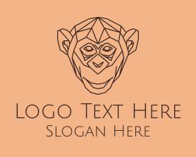 Advertising - Monkey Monoline logo design