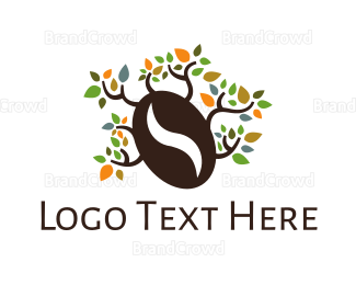 Brewery - Coffee Bean Tree logo design