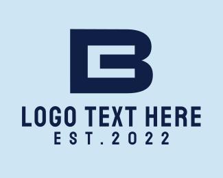 Letter B - B & C logo design