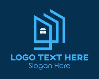 Home Development - Architectural Home Construction  logo design