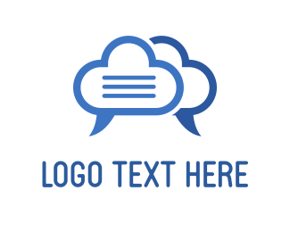 Document - Cloud Talk logo design