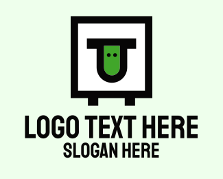 Logistic Service - Post Box Courier logo design