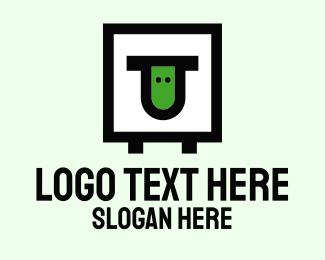 Courier - Square Box Sheep logo design