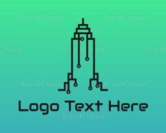 Building - Circuitry Building logo design