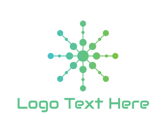 4g - Green Circle Tech  logo design