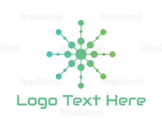 Cloud Drive - Green Circle Tech  logo design