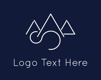 Highlands - Elegant Mountains logo design