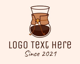 Carafe - Modern Coffee Carafe logo design