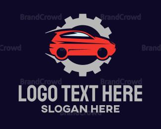 Drift - Car Engine logo design