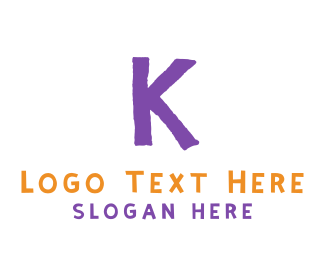 """""""Crayon Letter K"""" by BrandCrowd"""
