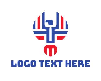 Abstract - Abstract Falcon logo design