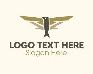 Pilot - Pilot Bird Badge logo design