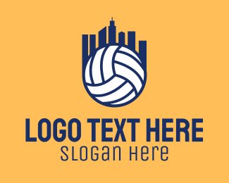 Volleyball Equipment - Volleyball City  logo design