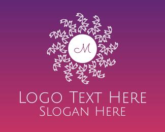 Detailed - Autumn Leaves Lettermark logo design