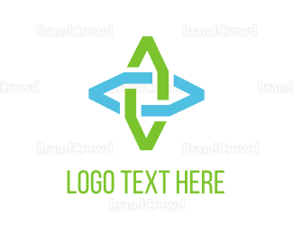 Joint - Abstract Flower logo design