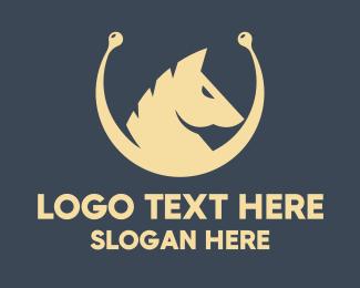 Polo - Silver Horse  logo design