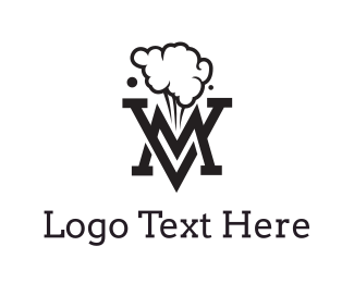 Activity - Smoking Black VM logo design