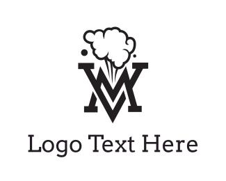 Trend - Smoking Black VM logo design