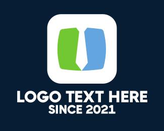 Symmetry - Business & Tie logo design