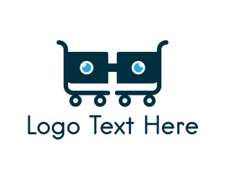 Nerd - Nerd Cart logo design