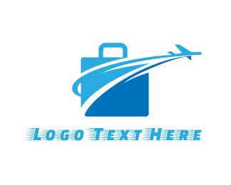 Travel Agency - Fast Luggage logo design