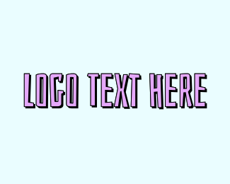 Text - Beach Text logo design