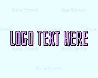 Text - Beach Text logo design