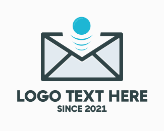Post Office - Email Bounce logo design