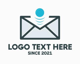 Mailman - Email Bounce logo design
