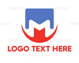 Moscow - Abstract Letter M logo design